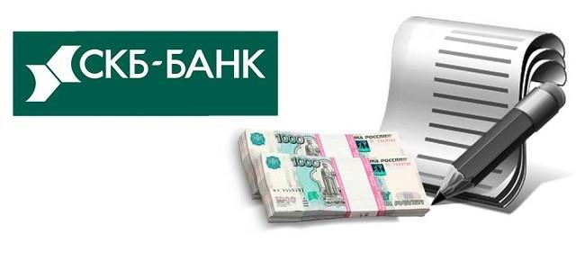 Документы для оформления кредита в СКБ-Банке