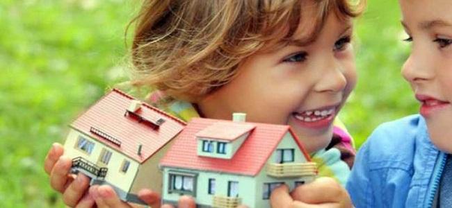доля в квартире ребенка