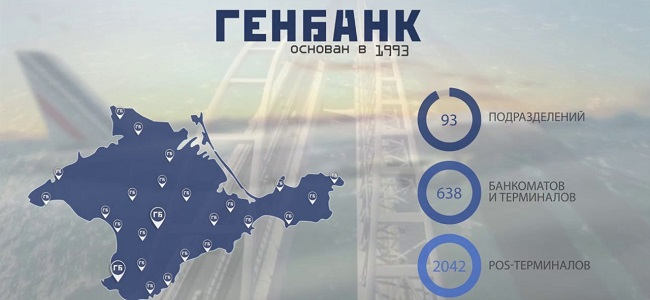 Генбанк - главный банк Крыма